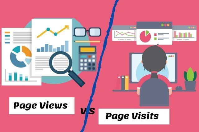 Page Views vs Visits