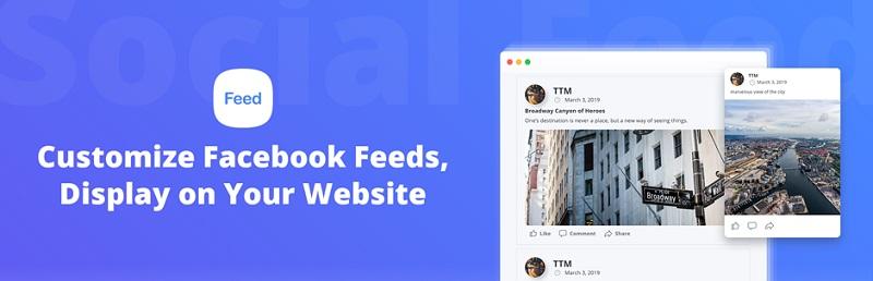 10Web Social Post Feed Facebook Plugin