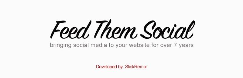 Feed Them Social 1 Facebook wordpress Plugin