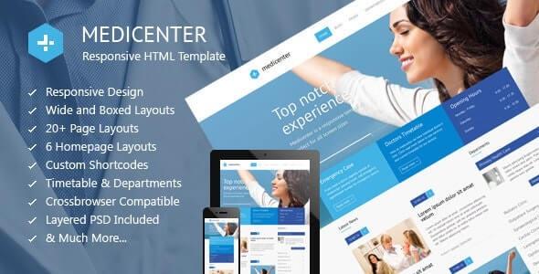 MediCenter Hospital Html Template