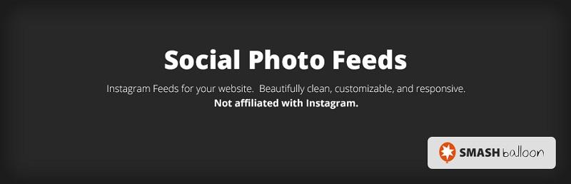 Smash Balloon Free WordPress Instagram Plugin