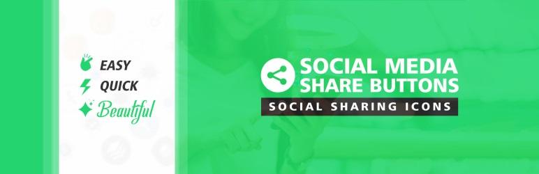 Social Media Share Buttons Free WordPress Plugin