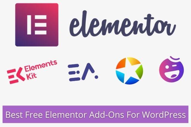 Best Free Elementor Add-Ons For WordPress