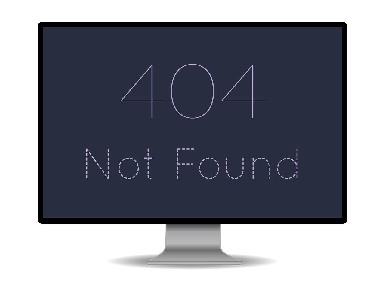 Check 404 errors