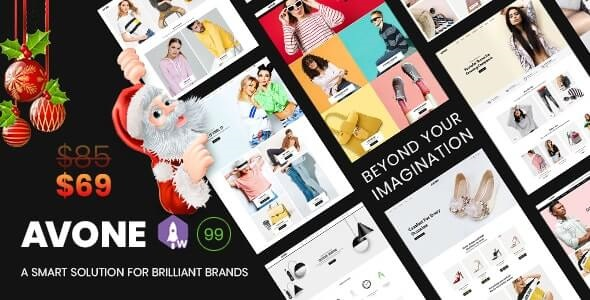 Avone Best Shopify Theme For Fashion