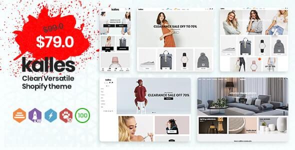 Kalles Dropshipping Shopify themes