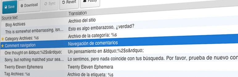Loco Translate WordPress Translation Plugin