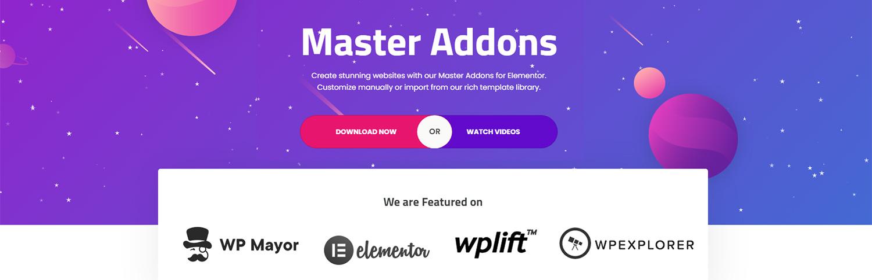 Master Addons For Elementor