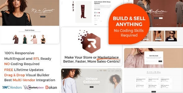 Rigid Best Multi vendor theme For WordPress