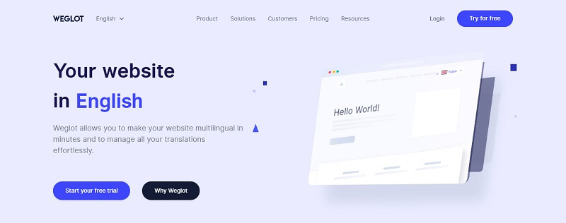 Weglot WordPress Translation Plugin