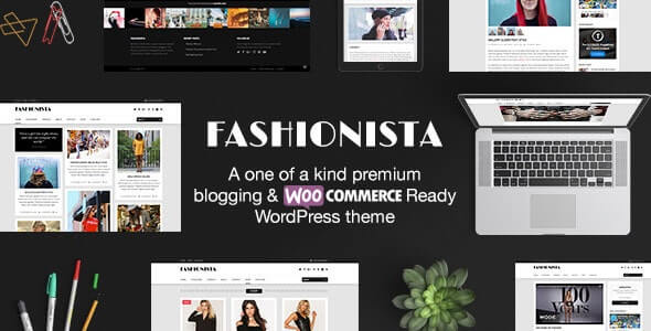 Fashionista Pinterest WordPress Theme