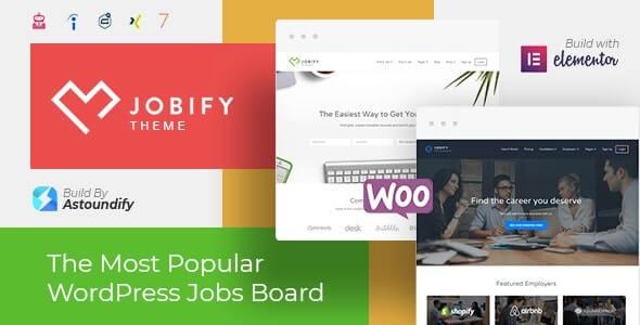 Jobify Job Board Theme For WordPress