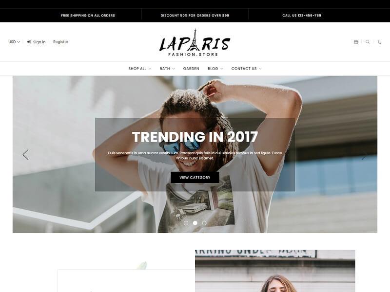 LaParis Theme For BigCommerce