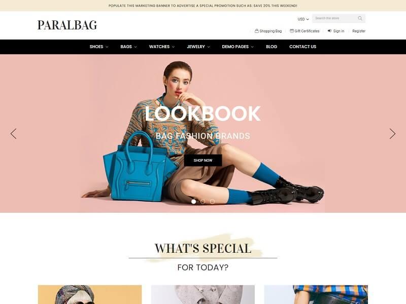 Paralbag BigCommerce Theme