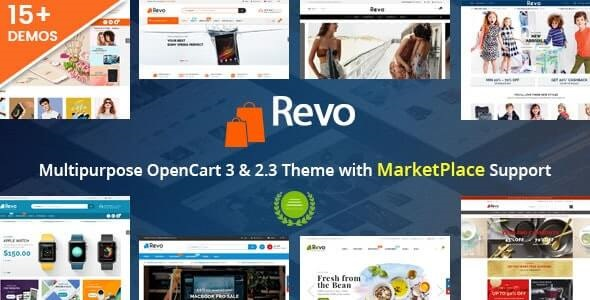 Revo Best Selling OpenCart Theme