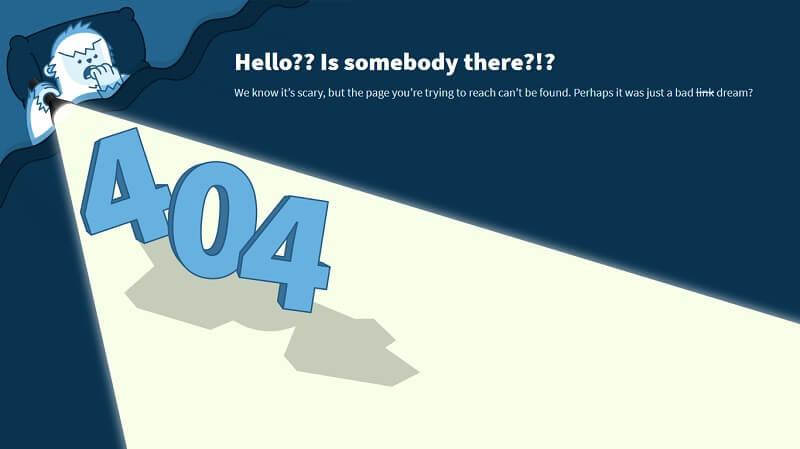Yeti 404 Page