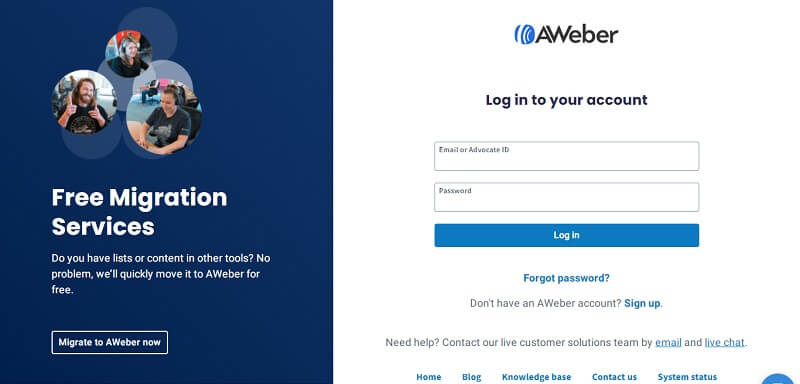 Aweber Account