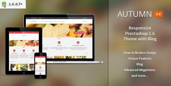 Autumn Responsive Theme For PrestaShop