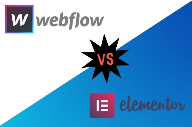 Webflow vs Elementor