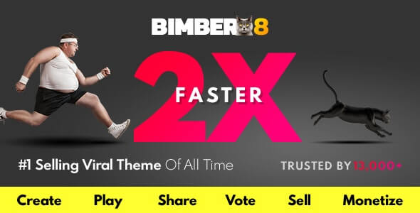Bimber Magazine WordPress Theme