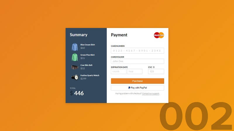 Credit Card Checkout 4