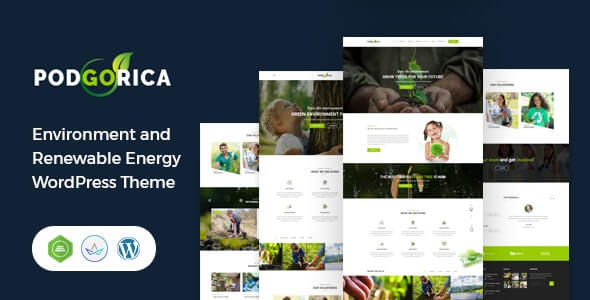 Podgorica Environmental Themes For WordPress