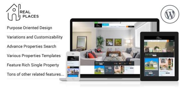 RealPlaces Real Estate Theme For WordPress