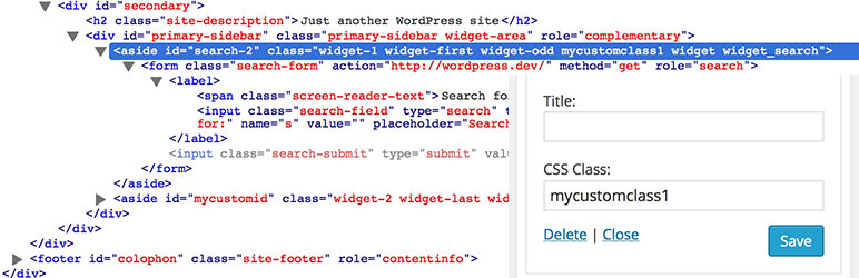 Widget CSS Classes Free Custom CSS Plugin For WordPress