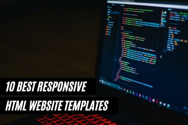 Best Responsive HTML Website Templates