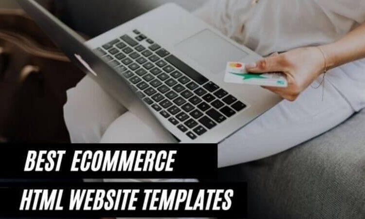 Best Ecommerce HTML Website Templates