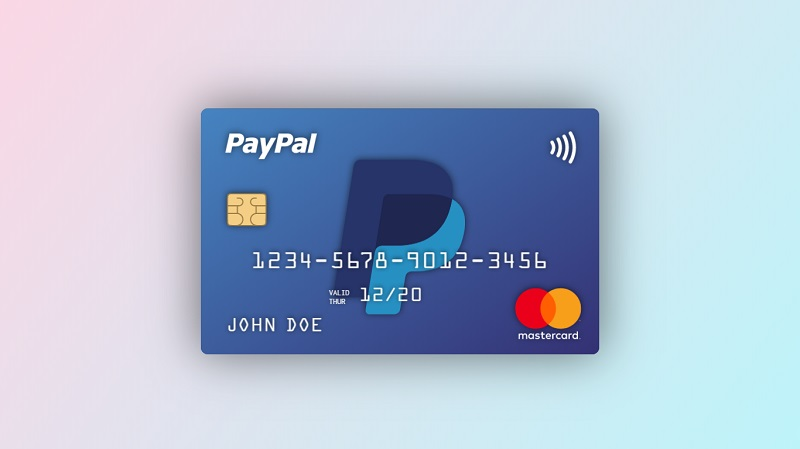 CSS 3D Floating Credit Card