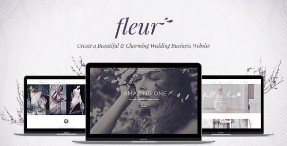 Fleur Wedding WordPress Theme