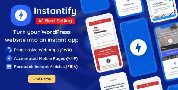 Instantify WordPress AMP Plugin