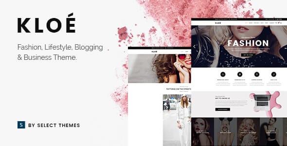 Kloe Fashion Theme For WordPress