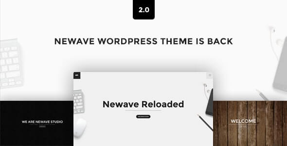 Newave One Page Theme For WordPress