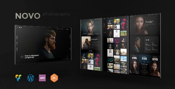 Novo Photography Theme For WordPress