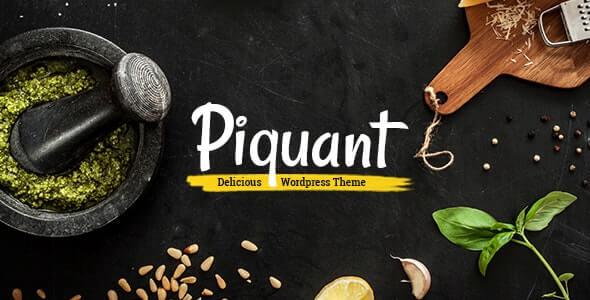 Piquant Restaurant Themes For WordPress.