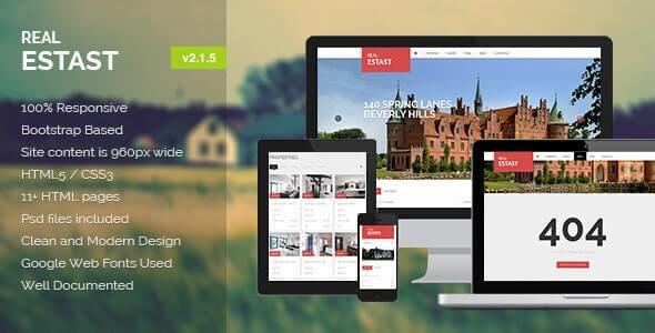 RealEstast HTML Website Template