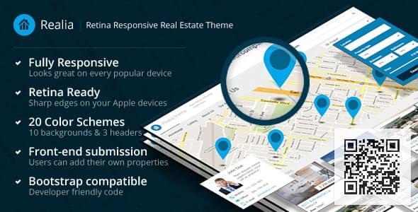 Realia Real Estate HTML Website Template