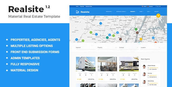 Realsite Real Estate HTML Template