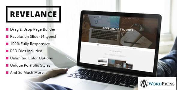 Revelance Parallax Theme For WordPress