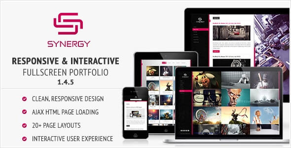 Synergy Responsive HTML Template