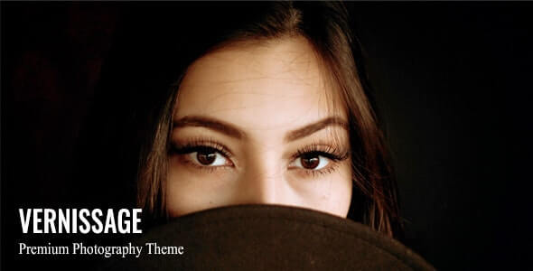 Vernissage Photography WordPress Theme