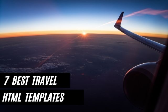 Best Travel HTML Website Templates