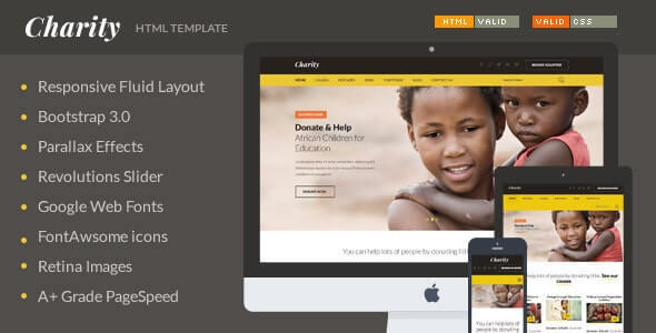 Charity HTML Template