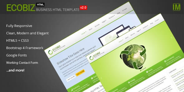 Ecobiz Business Html Template