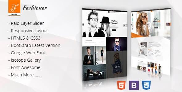 Fashioner Fashion HTML Template