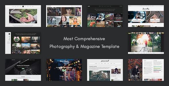 Juno Photography HTML Template