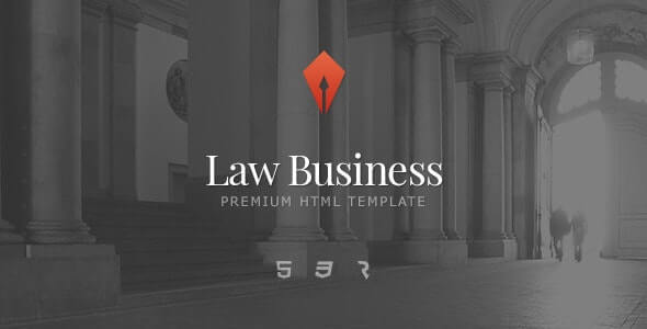 Law Business Lawyer HTML Template