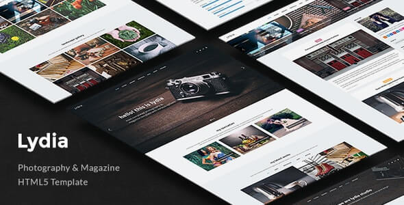 Lydia Photography HTML Template